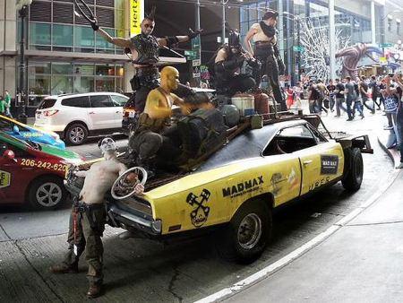 Uber da viajes al estilo Mad Max a sus usuarios