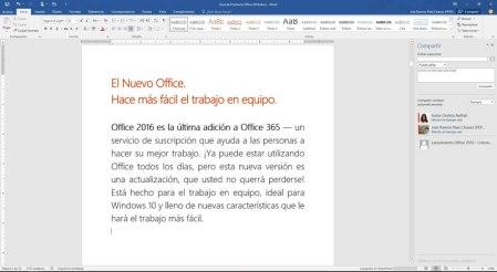 Microsoft Office 2016 ya está disponible para descargar