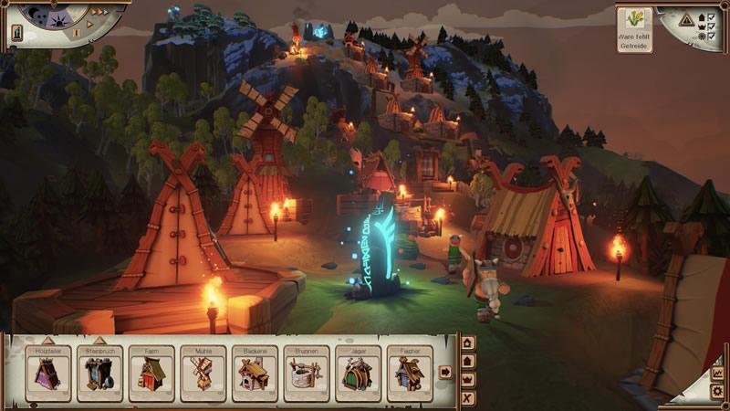Valhalla Hills, un juego de estrategia y construcción que te enfrenta a Dioses Vikingos - Valhalla-Hills