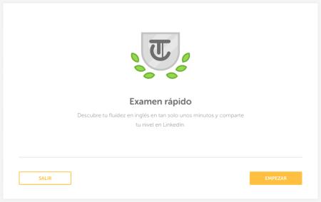 Mide tu nivel de inglés con el exámen rápido de Duolingo