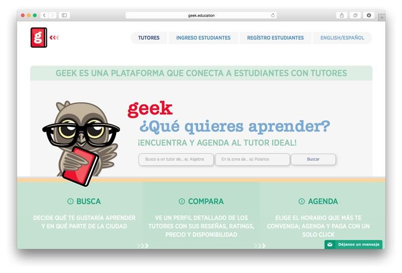GEEK: una plataforma para encontrar tutores y agendar clases presenciales - geek-que-quieres-aprender