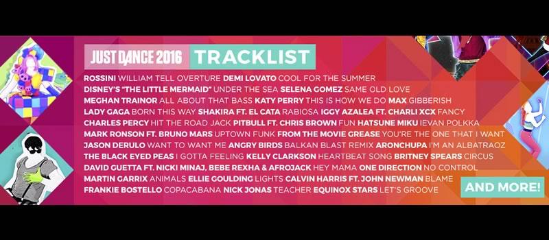 Conoce la lista completa de canciones en Just Dance 2016 - Canciones-de-Just-Dance-2016