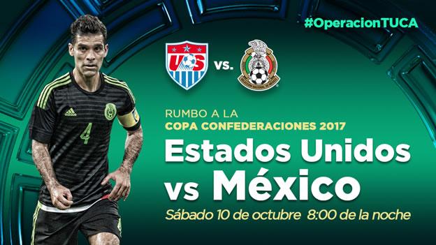 México vs Estados Unidos por el boleto a la Confederaciones 2017 - Mexico-vs-Estados-Unidos-en-vivo-2015