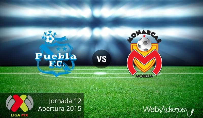 Puebla vs Morelia, Fecha 12 del Apertura 2015 - Puebla-vs-Morelia-Apertura-2015