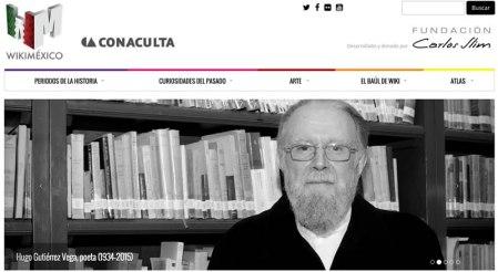 Fundación Carlos Slim dona WiKiMéxico a Conaculta