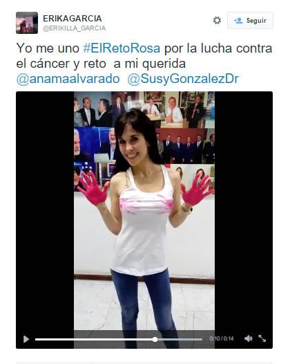 el reto rosa El Reto Rosa invade las redes sociales