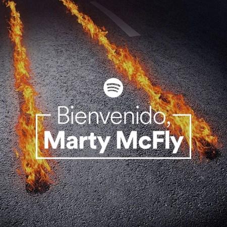 Spotify lanza playlist ¡Bienvenido, Marty McFly!