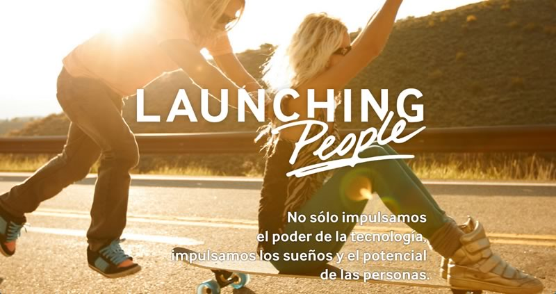 Samsung lanza su campaña Launching People - samsung-launching-people