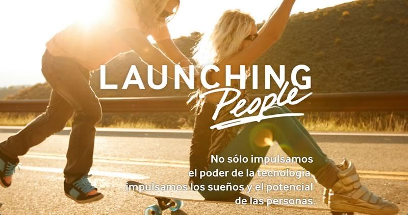 samsung launching people Samsung lanza su campaña Launching People