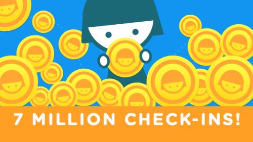 Swarm registra 7 millones de check-ins en un solo día - swarm-registra-7-millones-de-check-ins-en-un-solo-dia