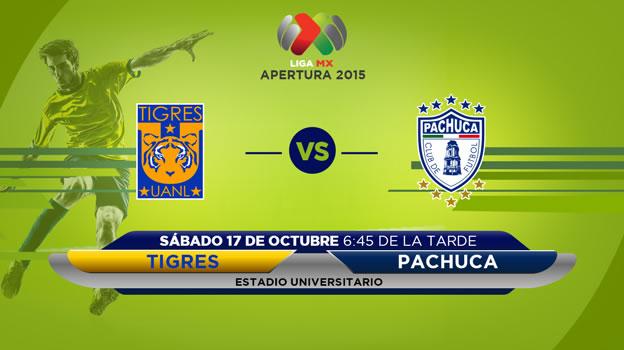 Tigres vs Pachuca, Jornada 13 del Apertura 2015 - tigres-vs-pachuca-en-vivo-apertura-2015