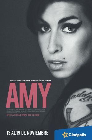 Cinépolis proyecta en exclusiva el documental de Amy Winehouse