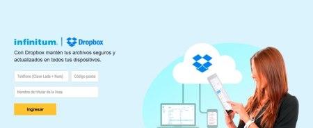Telmex y Dropbox regalan 5GB a clientes infinitum