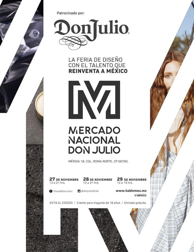 Mercado Nacional es presentado por Tequila Don Julio, proyecto que reúne a diseñadores mexicanos - mercado-nacional-don-julio