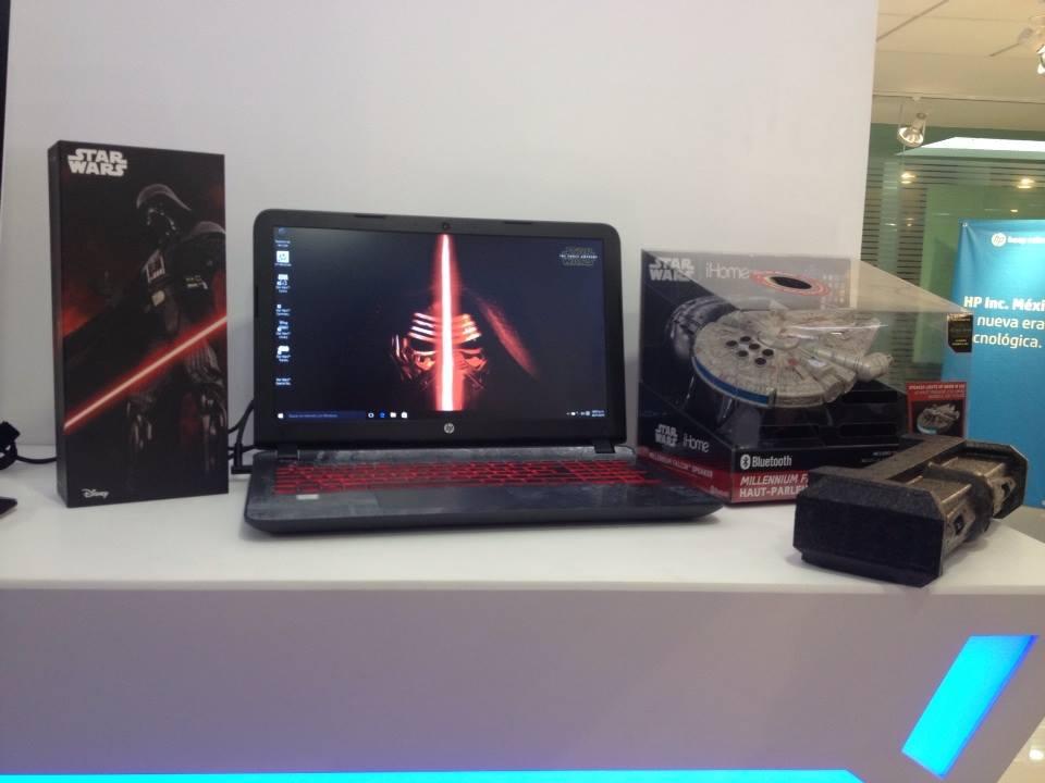 star wars edicion especial mexico Llega a México la nueva línea de PCs y notebooks HP para Navidad