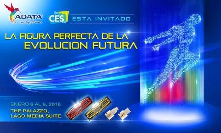 ADATA anuncia los dispositivos que presentará en el CES 2016