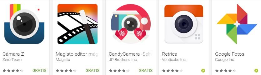 Google Play revela las mejores apps y juegos de 2015 - apps-de-fotografia