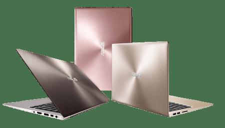 ASUS presenta las nuevas versiones de Notebooks ZenBook