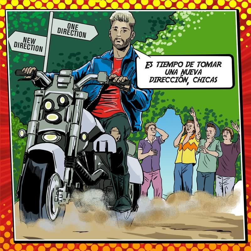 comicsingles es 1 Los súper héroes y villanos de la música del 2015 plasmados en cómics en The Deezer Annual