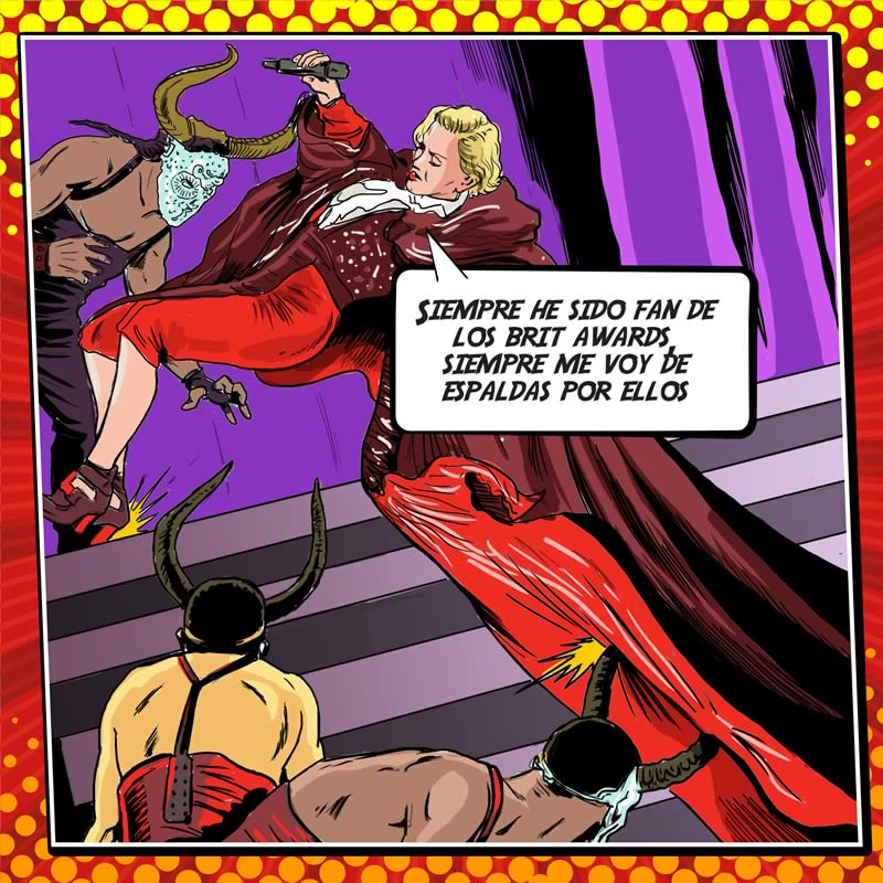 comicsingles es 3 Los súper héroes y villanos de la música del 2015 plasmados en cómics en The Deezer Annual