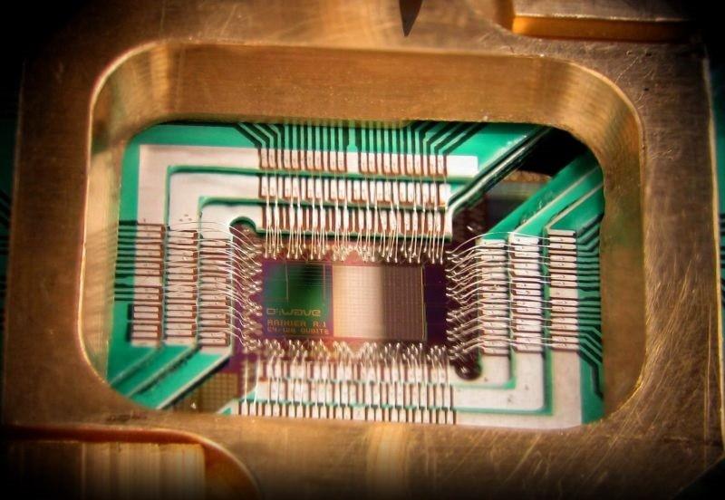Google anuncia que su computadora cuántica D-Wave ya está funcionando - computadora-cualium-800x552