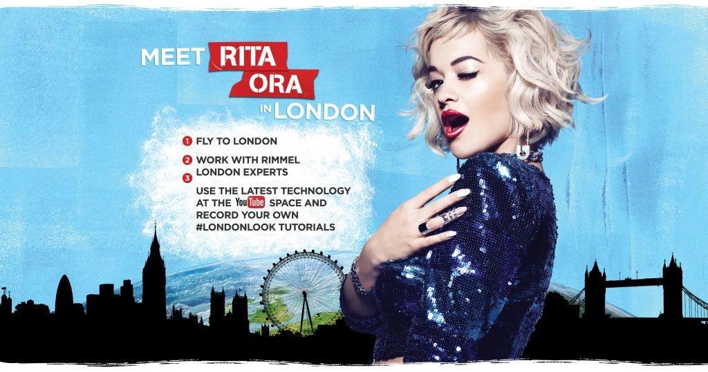"Rimmel London lanza el concurso internacional ""The London Look"" con Rita Ora - concurso-rimmel-london"