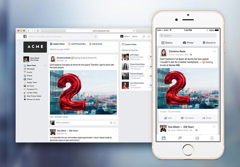 Facebook bloqueará Candy Crush en 'Facebook at Work' - facebook-at-work-800x557