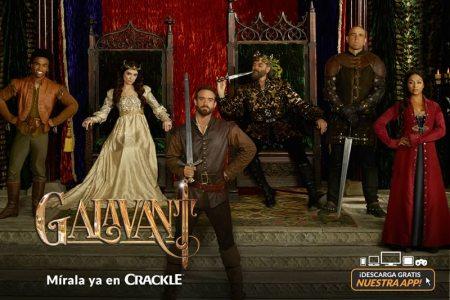 Ya puedes ver Galavant gratis en Crackle en toda Latinoamérica