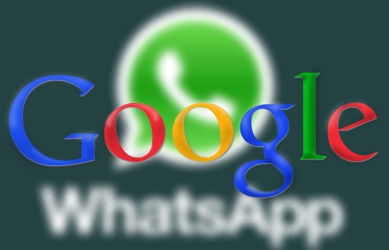 Google prepara nueva app de mensajería para competir con WhatsApp - google-whatsapp-800x515