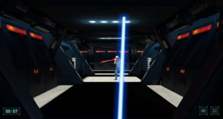 Convierte tu smartphone en un sable láser de Star Wars con este juego de Google