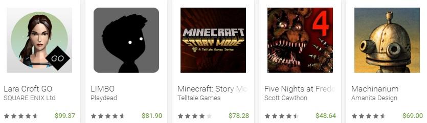 Google Play revela las mejores apps y juegos de 2015 - juegos-de-paga