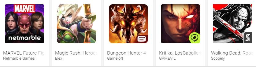 Google Play revela las mejores apps y juegos de 2015 - juegos-de-rol