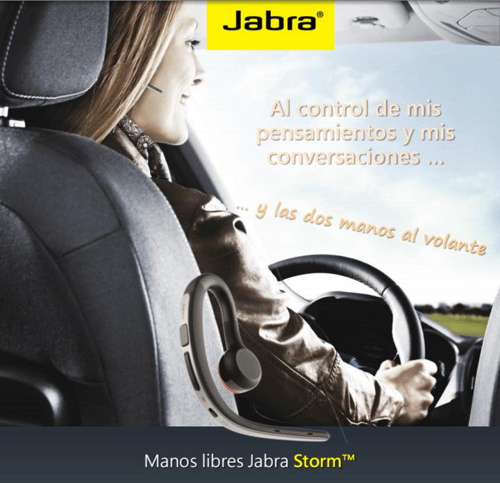 manos libre storm Jabra presenta su familia de manos libres