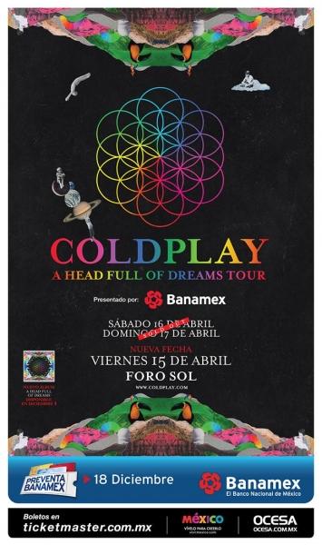 Coldplay anuncia tercera fecha en México - nueva-fecha-coldplay-en-mexico-2016