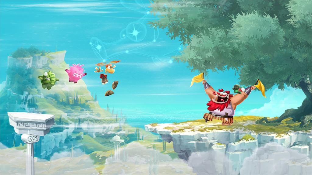 olympus rayman Ya disponible Rayman Adventures para smartphones y Tablets