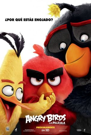 Presentan nuevo poster de Angry Birds, la película