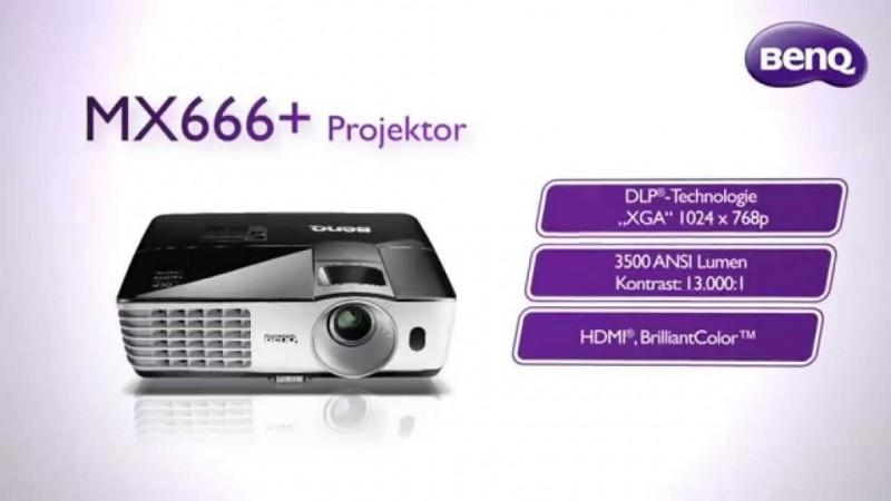 Proyectores de negocio BenQ cuentan con tecnología NFC de transmisión inalámbrica - proyector-benq-mx666-800x450