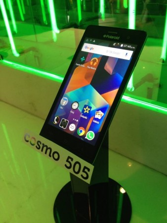 Polaroid lanza el nuevo smartphone Polaroid Turbo 350 - smartphone-cosmo-505-polaroid-338x450