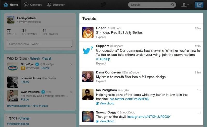 Twitter podría cambiar la forma en la que organiza los tuits - timeline-twitter-800x493