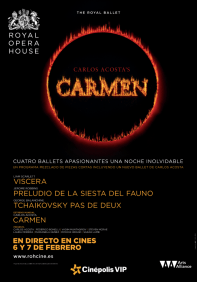 Cinépolis presenta su temporada de Ópera y Ballet 2016 - carmen