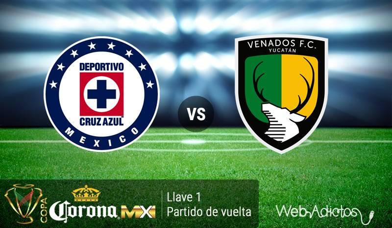 Cruz Azul vs Venados, Fecha 2 de Copa MX Clausura 2016 - cruz-azul-vs-venados-copa-mx-clausura-2016