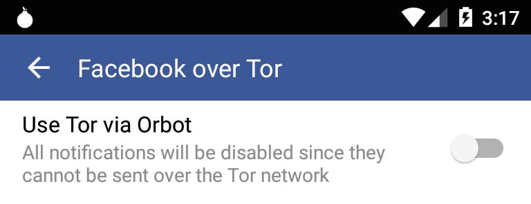 Facebook para Android añade soporte nativo para la red Tor - facebook-para-android-usando-tor