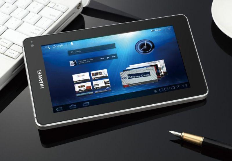 Huawei podría entrar al negocio de las PCs - huawei-mediapad-tablet