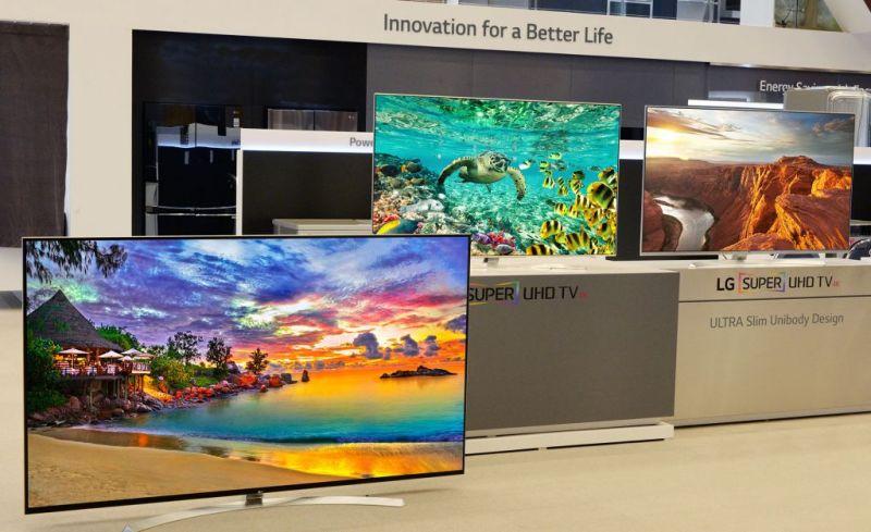 LG Electronics fue galardonado con más de 50 premios en el CES 2016 - lg-tv