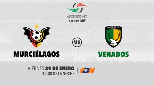 Murciélagos vs Venados, Jornada 4 del Ascenso MX Clausura 2016 - murcielagos-vs-venados-por-tdn-clausura-2016