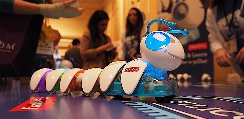 Fisher-Price presenta un juguete para enseñar a programar - think-learn-code-a-pillar-800x393
