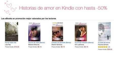 Celebra el mes del amor con libros, gracias a las ofertas de Amazon Kindle