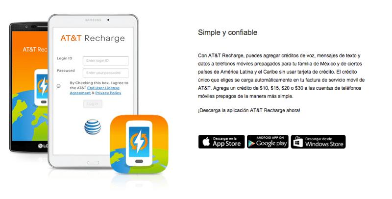 AT&T Recharge, app que te conecta más seguido con amigos y familiaresen el exterior - att-recharge