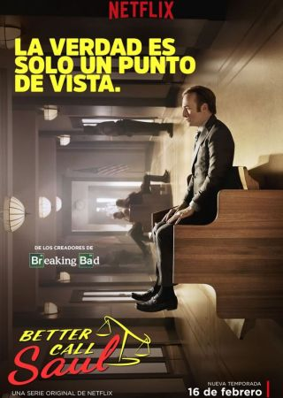 Este es el poster de la segunda temporada de Better Call Saul