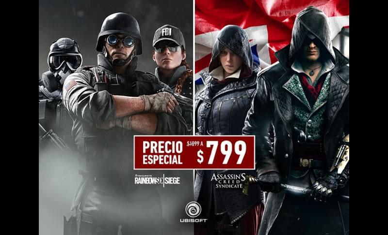 Ubisoft anuncia descuentos para sus últimos dos lanzamientos - descuentos-ubisoft